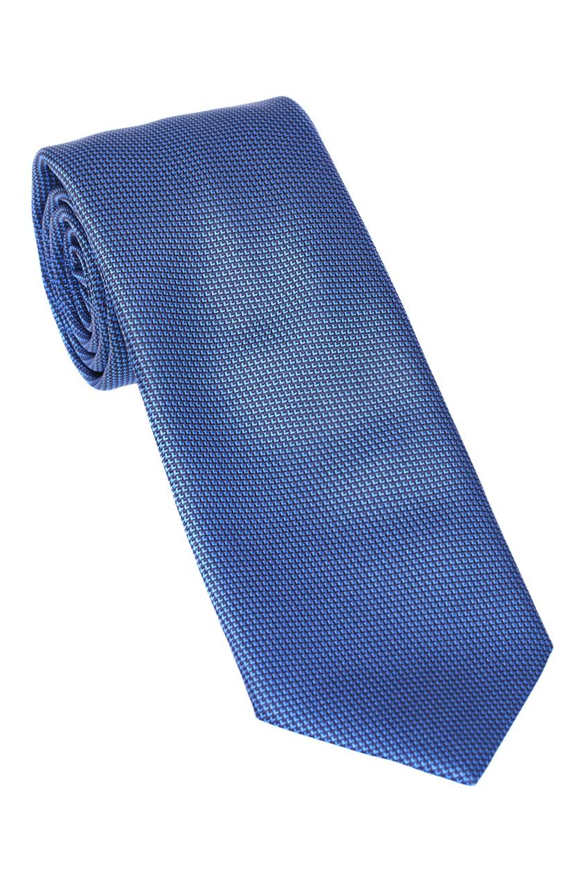 мужские галстуки и бабочки brioni, синие
