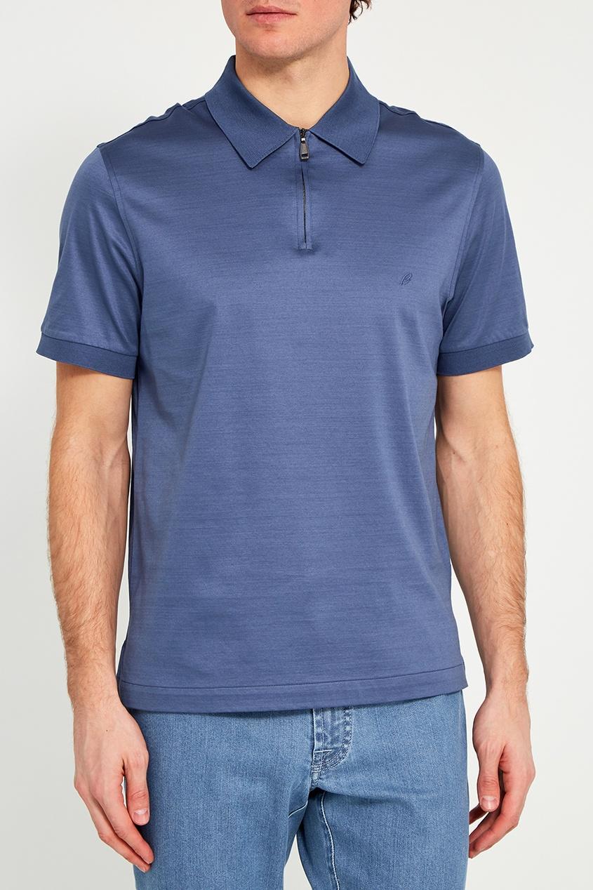 BRIONI Хлопковая футболка-поло brioni спортивный костюм от brioni 72536