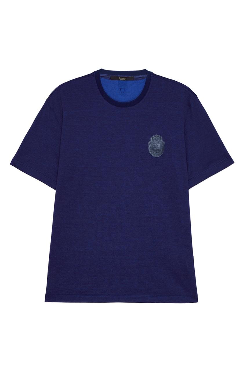 Billionaire Синяя футболка из хлопка billionaire черные трусы из хлопка