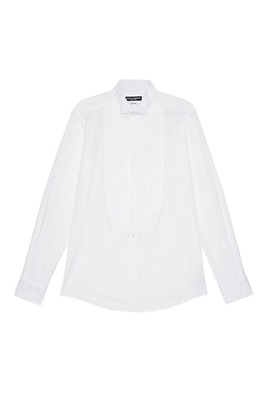 Купить Белая сорочка из хлопка белого цвета