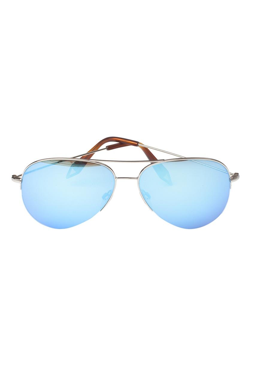 Солнцезащитные очки с голубыми стеклами