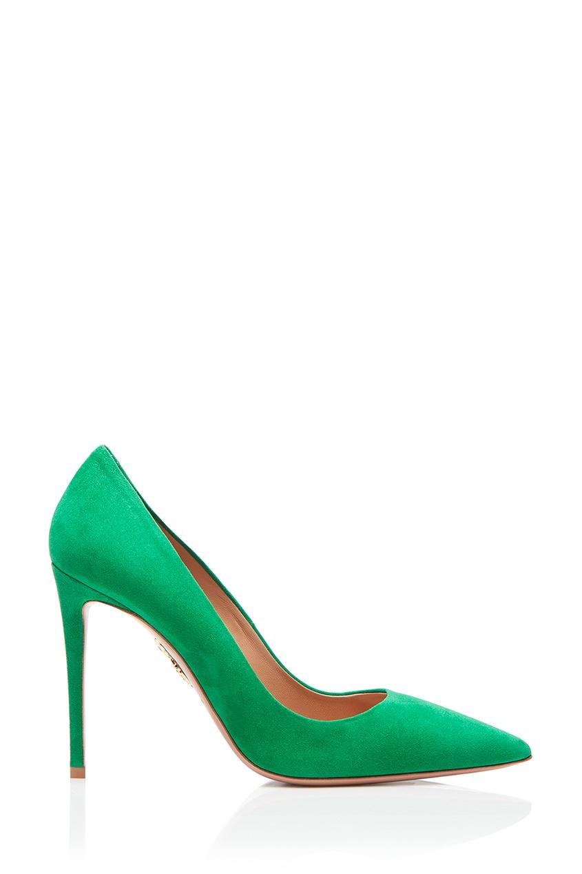 Зеленые туфли из замши Simply Irresistible Pump 105