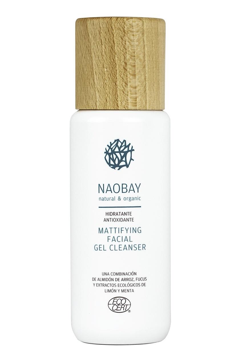NAOBAY Матирующий очищающий гель для лица / Mattifying Facial Gel Cleanser, 200 ml полотенцесушитель ника mix 60х60 водяной вираж 60 60