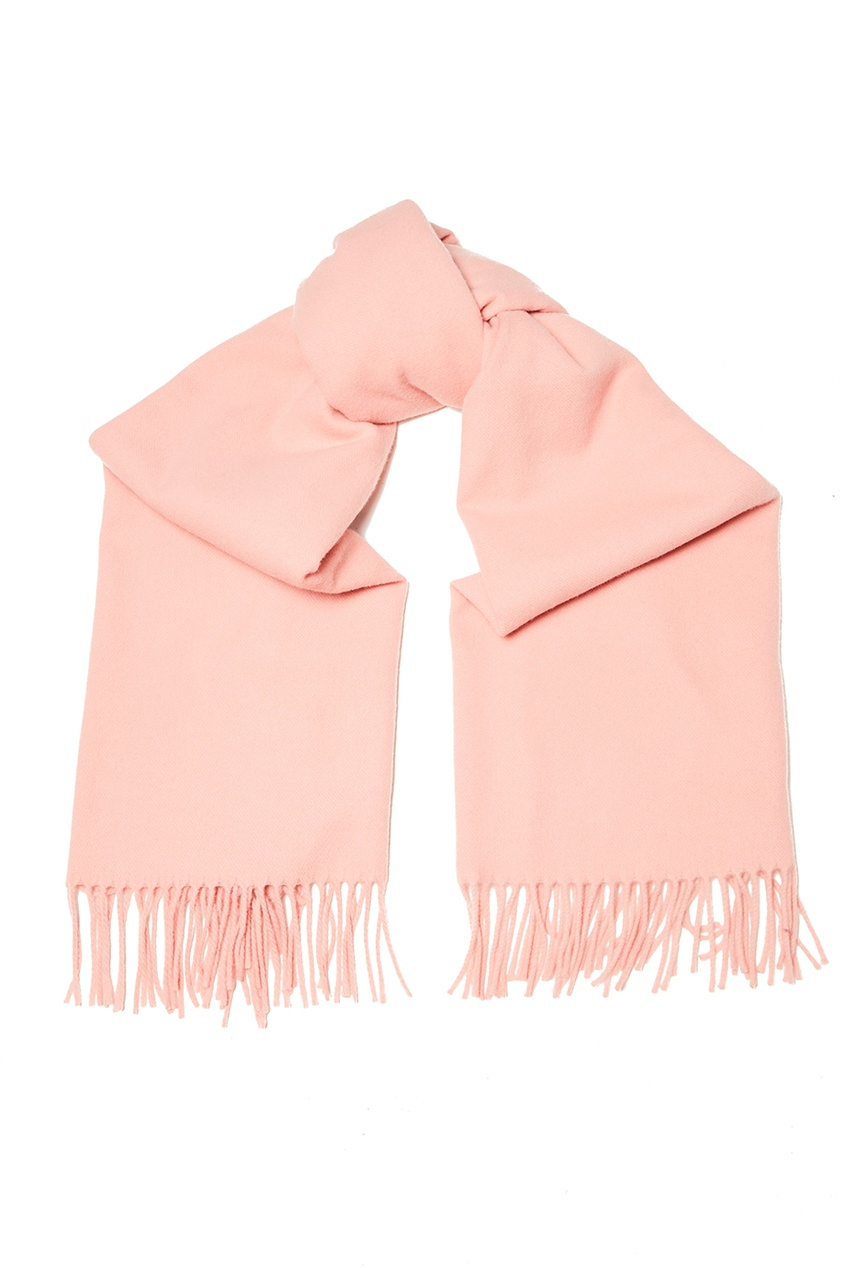 Розовый шарф с бахромой Canada New