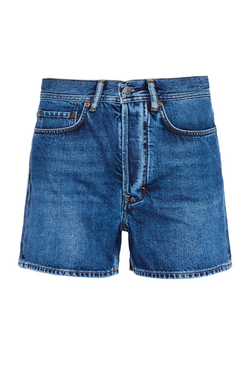 цены на Acne Studios Потертые джинсовые шорты Swamp в интернет-магазинах