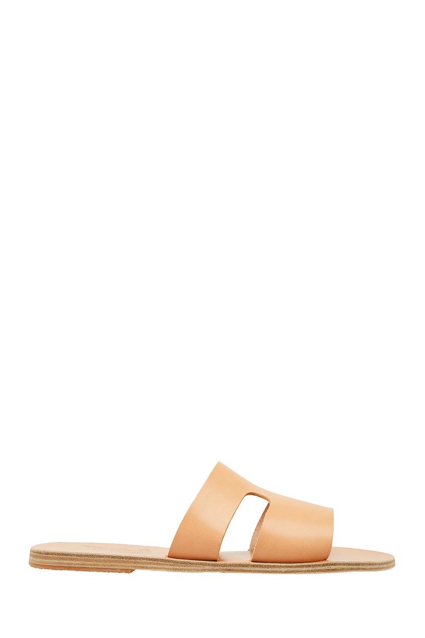 купить Ancient Greek Sandals Бежевые сандалии из кожи дешево