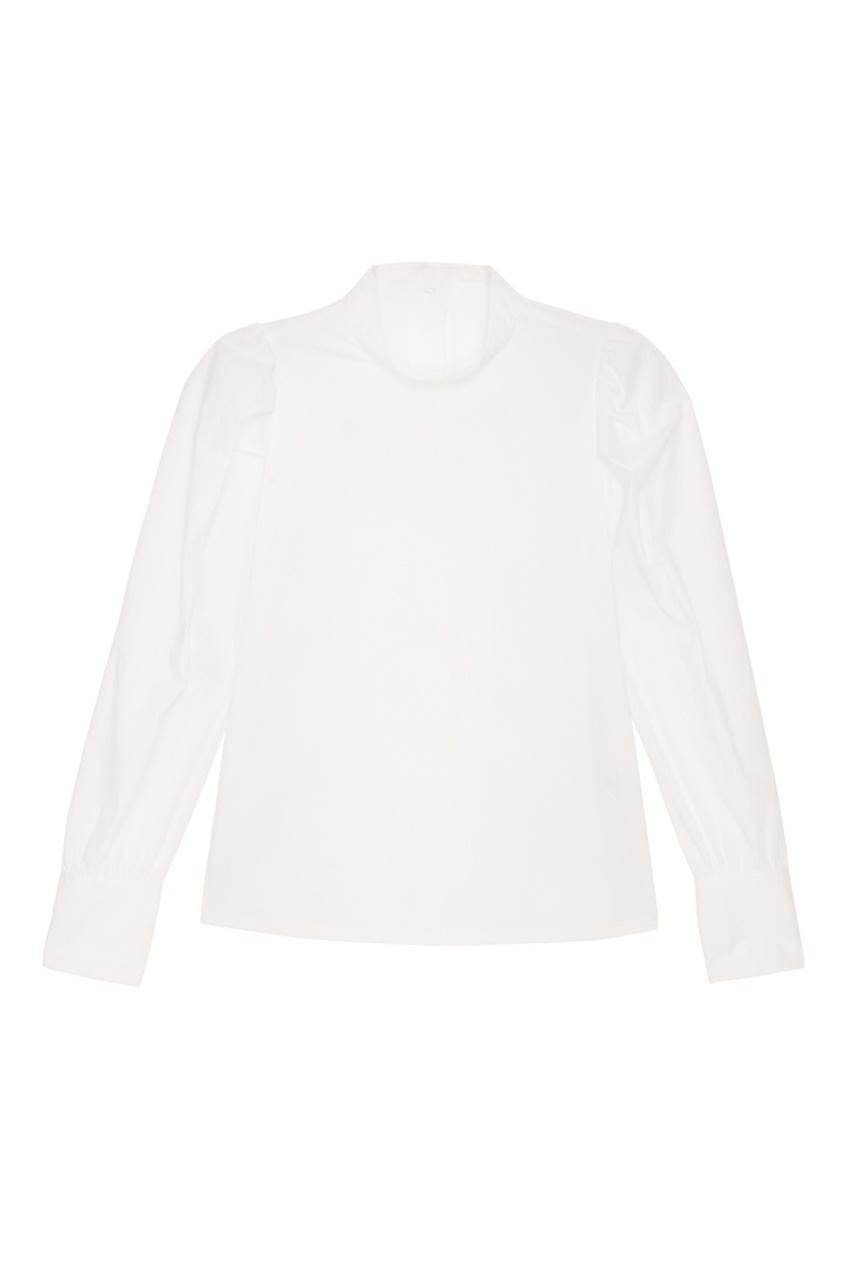 MO&Co Рубашка со складками на рукавах co