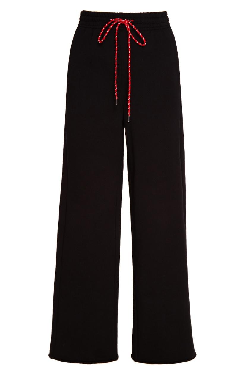 MO&Co Широкие брюки из хлопка брюки широкие из хлопка stretch phil