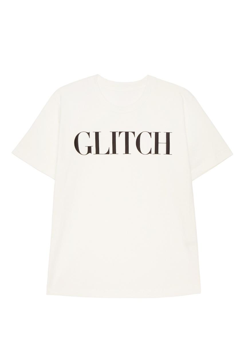 Хлопковая футболка с надписью