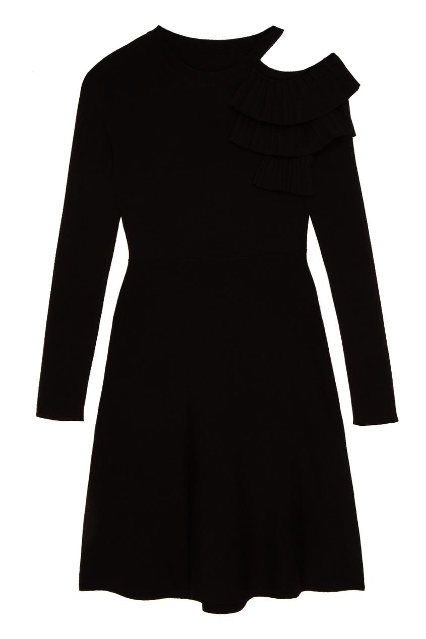 MO&Co Платье с воланами на плече
