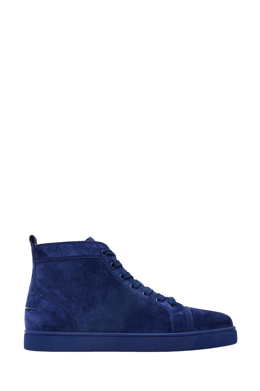 Синие замшевые кеды Louis Flat