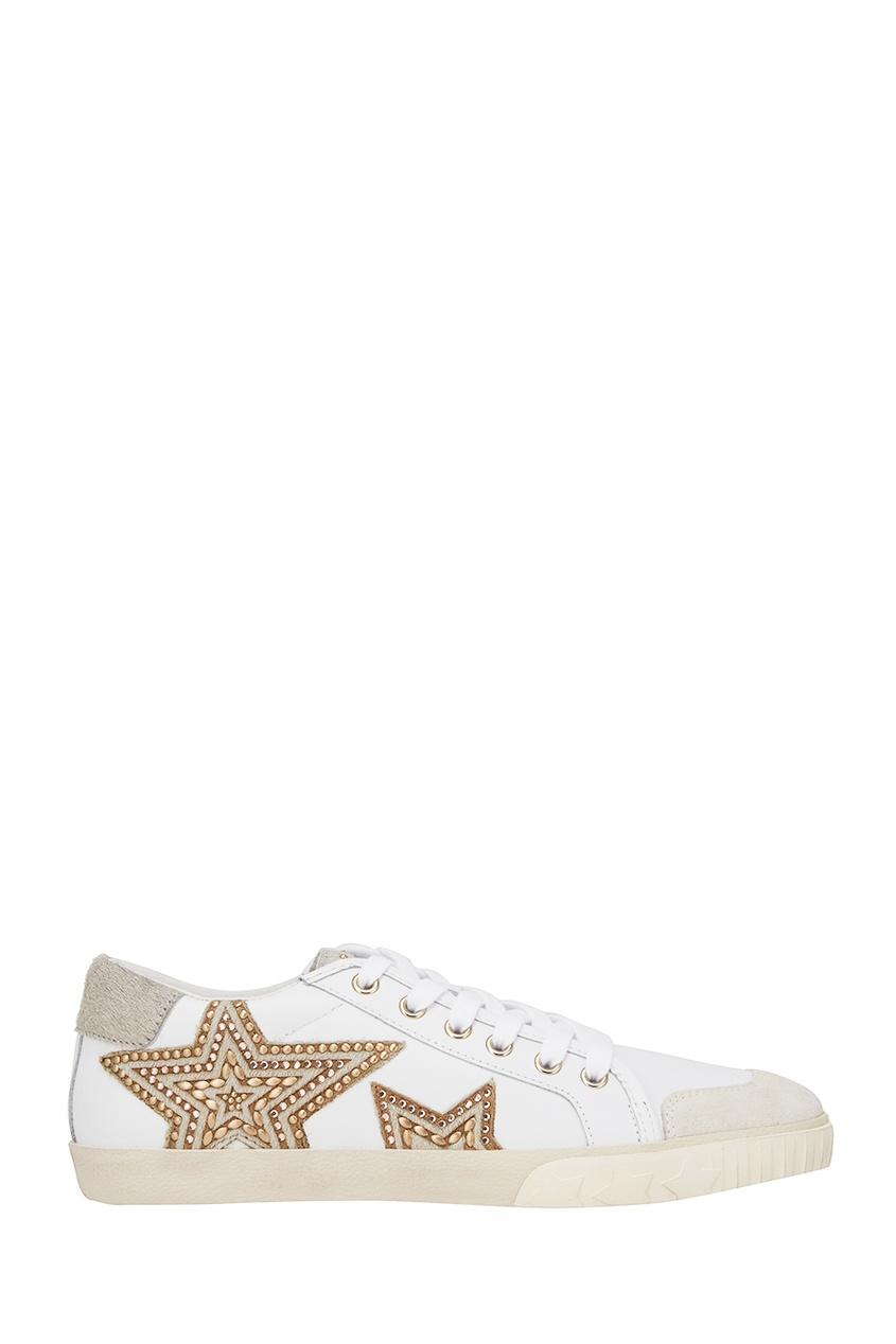 ASH Белые кеды со звездами