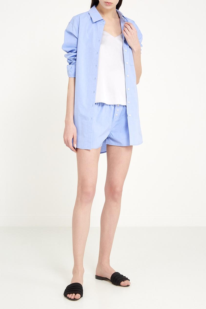 Love Stories Голубые шорты из хлопка пижамные комплекты
