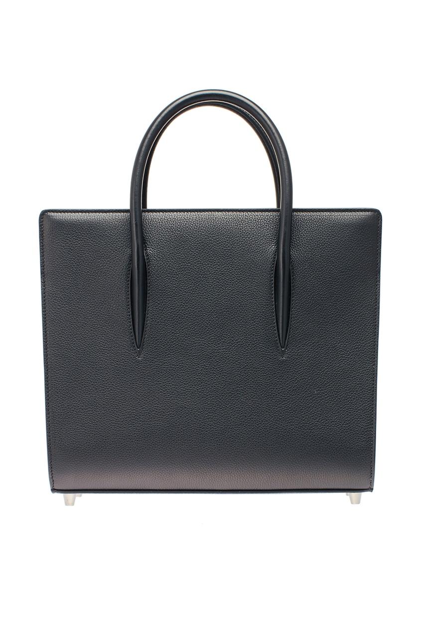 Черная сумка из кожи Paloma Medium