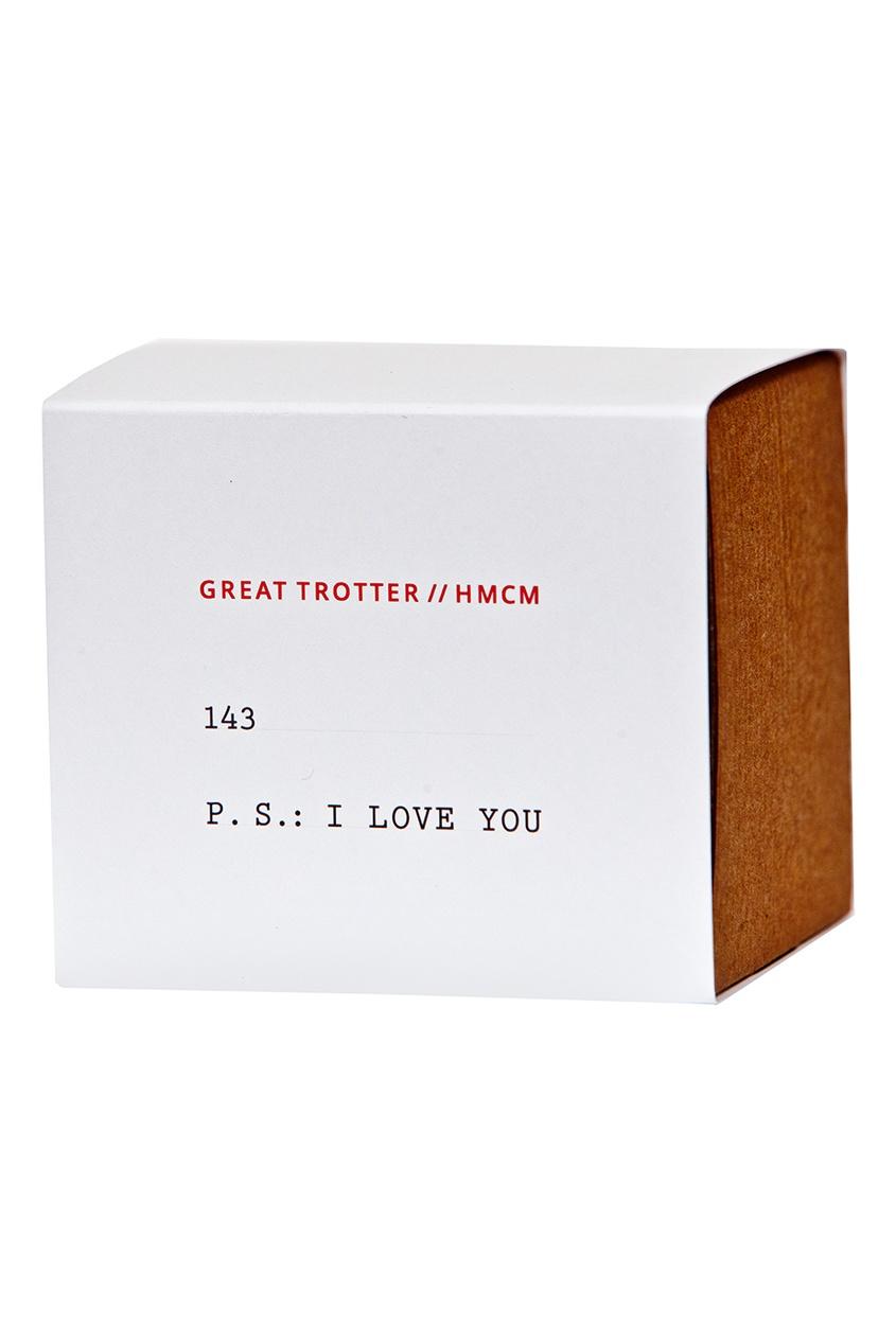 Лимитированная свеча 143 P.S. I Love You, 300 g