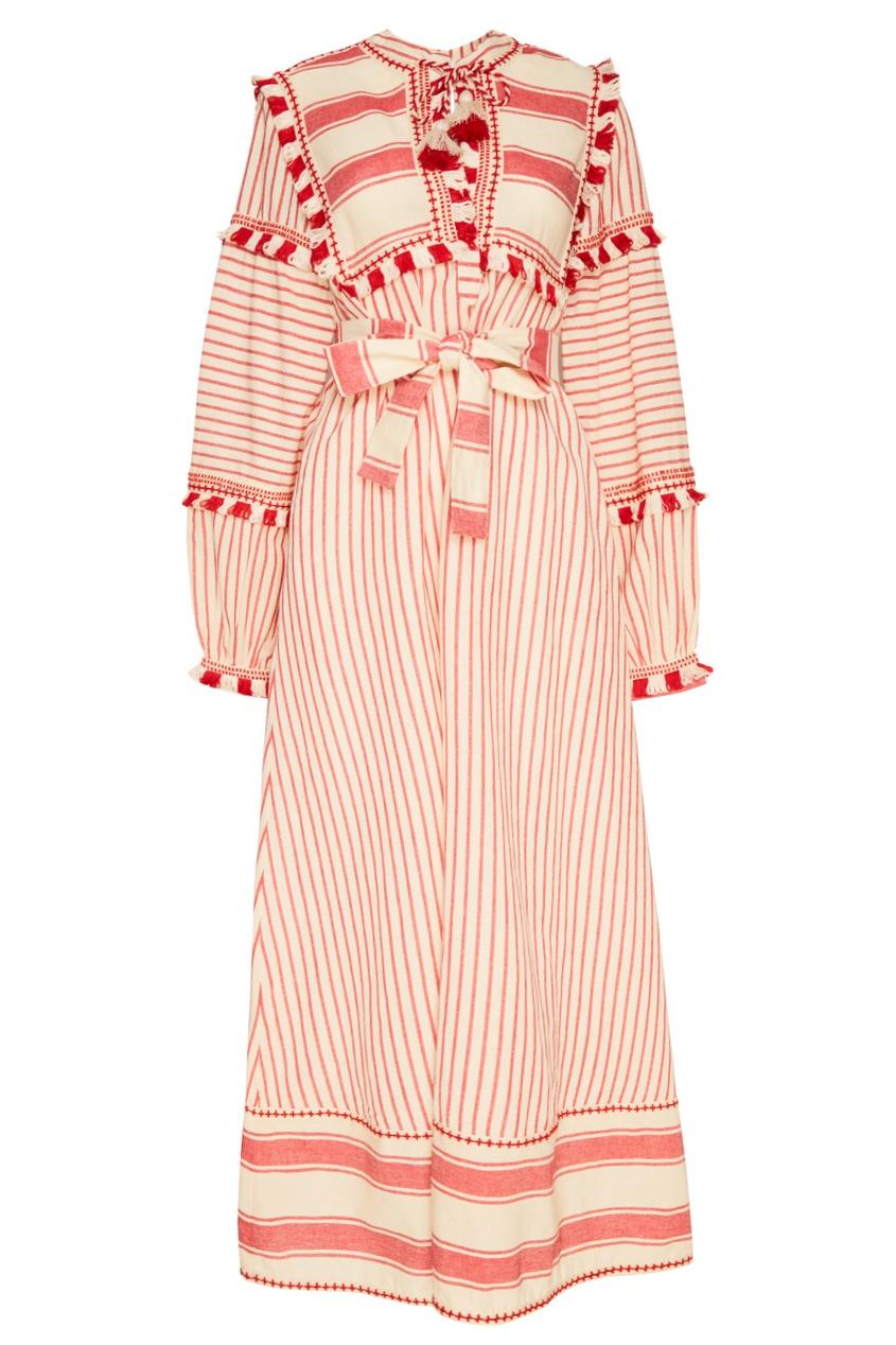 Хлопковое платье Emanuelle