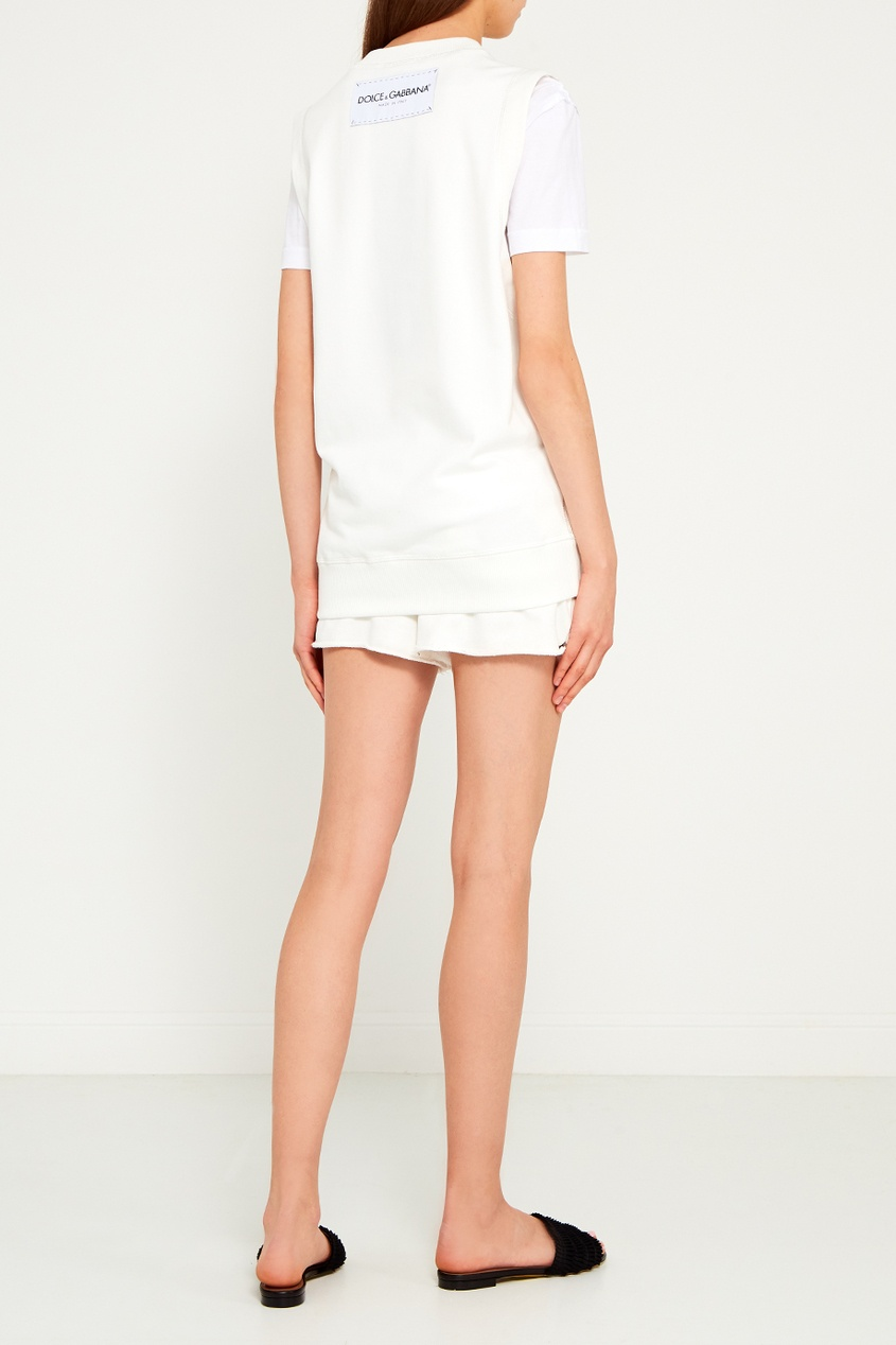 Forte Couture Белые трикотажные шорты каталог forte