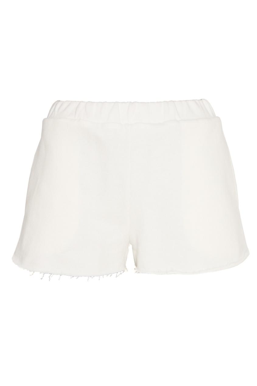 Forte Couture Белые трикотажные шорты fontana couture шарф
