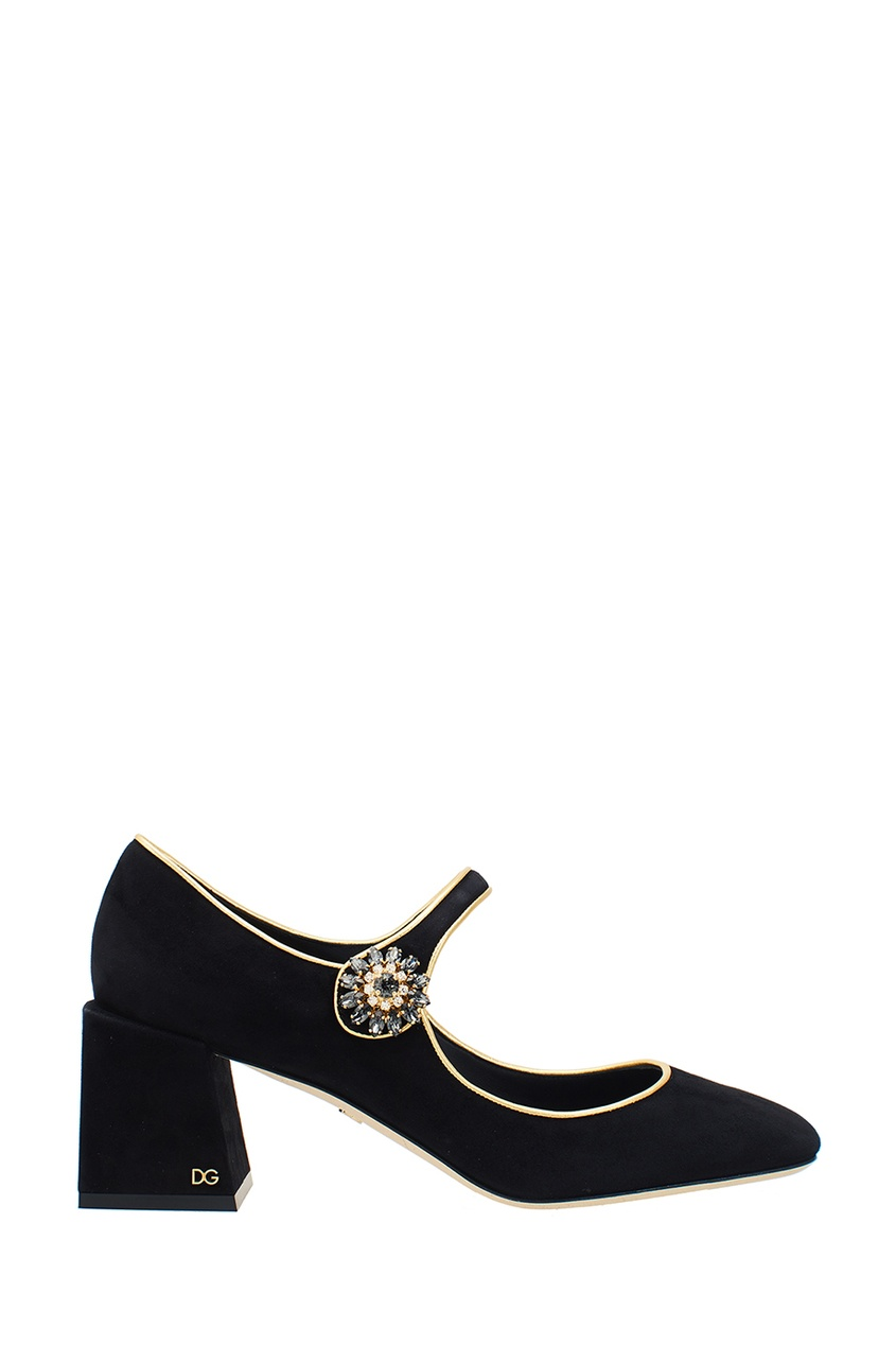 Dolce&Gabbana Черные замшевые туфли система подогрева труб nexans defrost water kit 4m