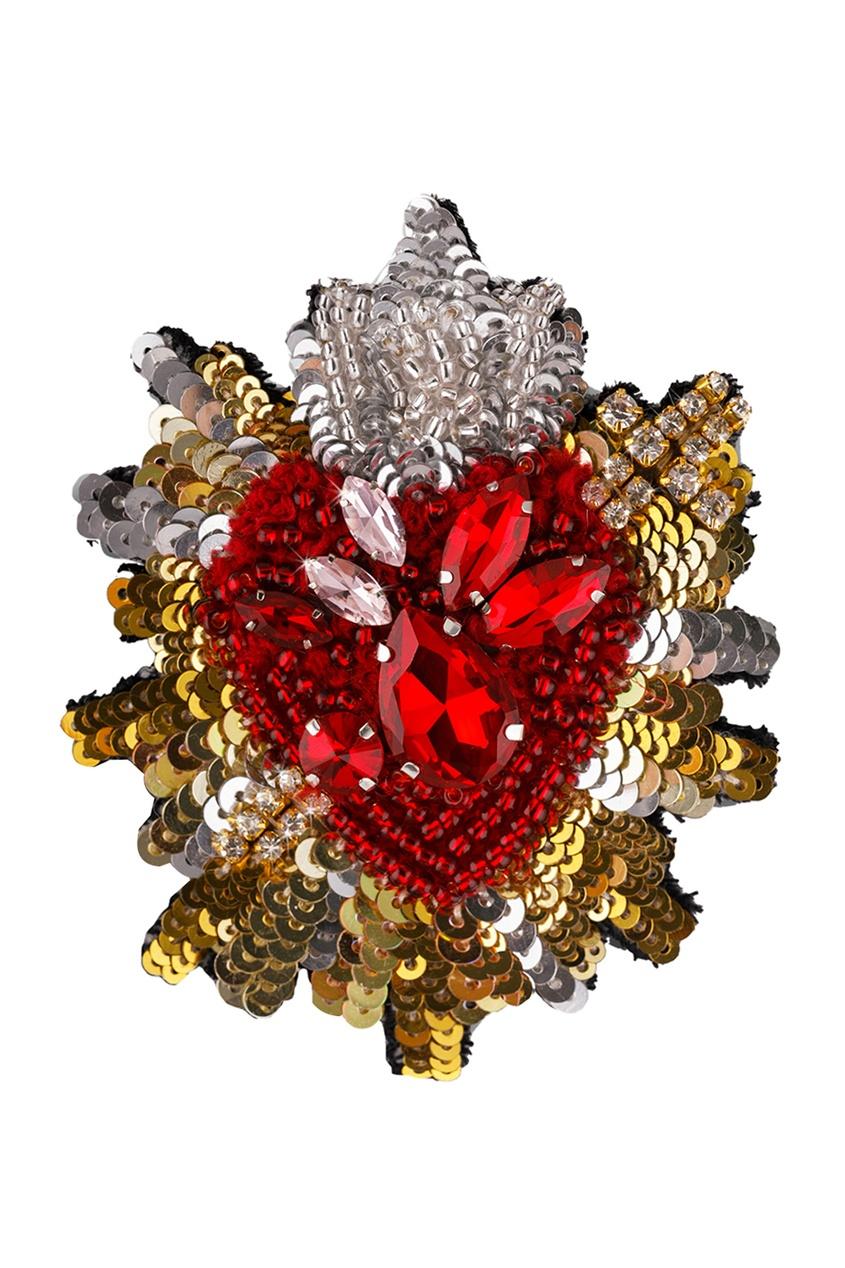 PLANKT.ON Брошь малая «Любящее сердце»