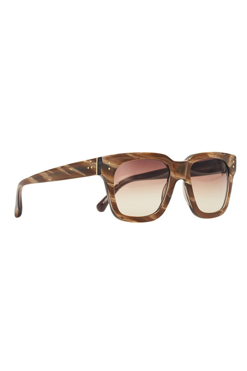 Коричневые солнцезащитные очки Limited Edition