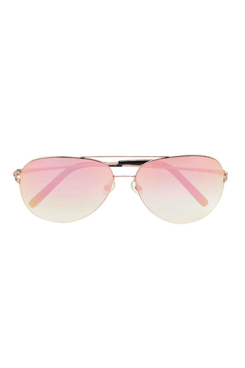 Linda Farrow Розовые солнцезащитные очки Linda Farrow x Mathew Williamson linda farrow солнцезащитные очки linda farrow х no 21