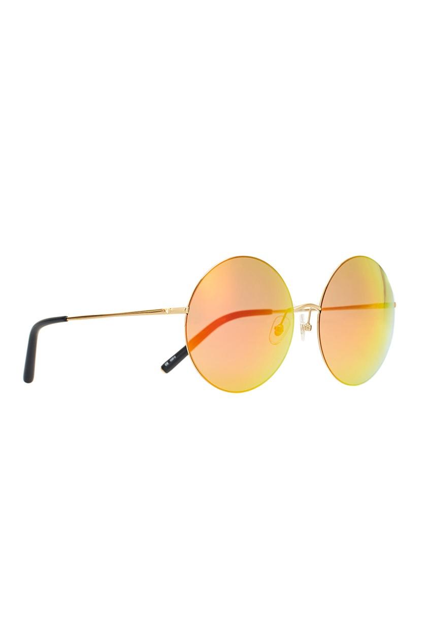 Оранжевые солнцезащитные очки Linda Farrow x Mathew Williamson