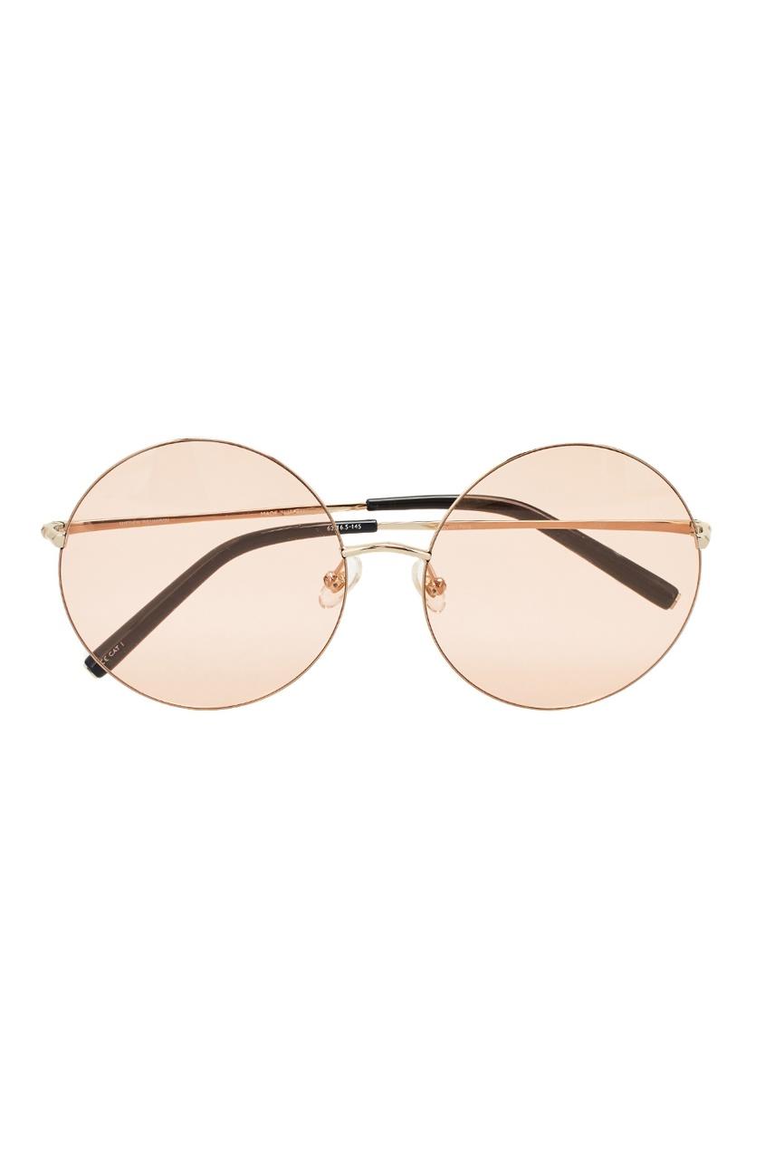Linda Farrow Розовые солнцезащитные очки Linda Farrow x Mathew Williamson linda farrow черепаховые солнцезащитные очки linda farrow x phillip lim