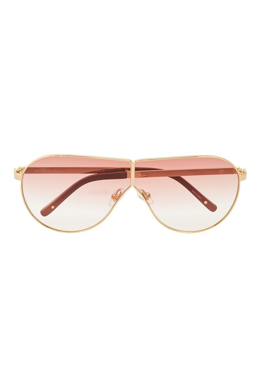 Linda Farrow Розовые солнцезащитные очки Linda Farrow x Phillip Lim блокноты эксмо алиса чудесная