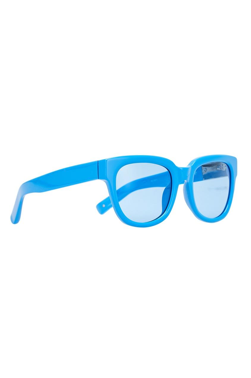 Голубые солнцезащитные очки Linda Farrow x Phillip Lim