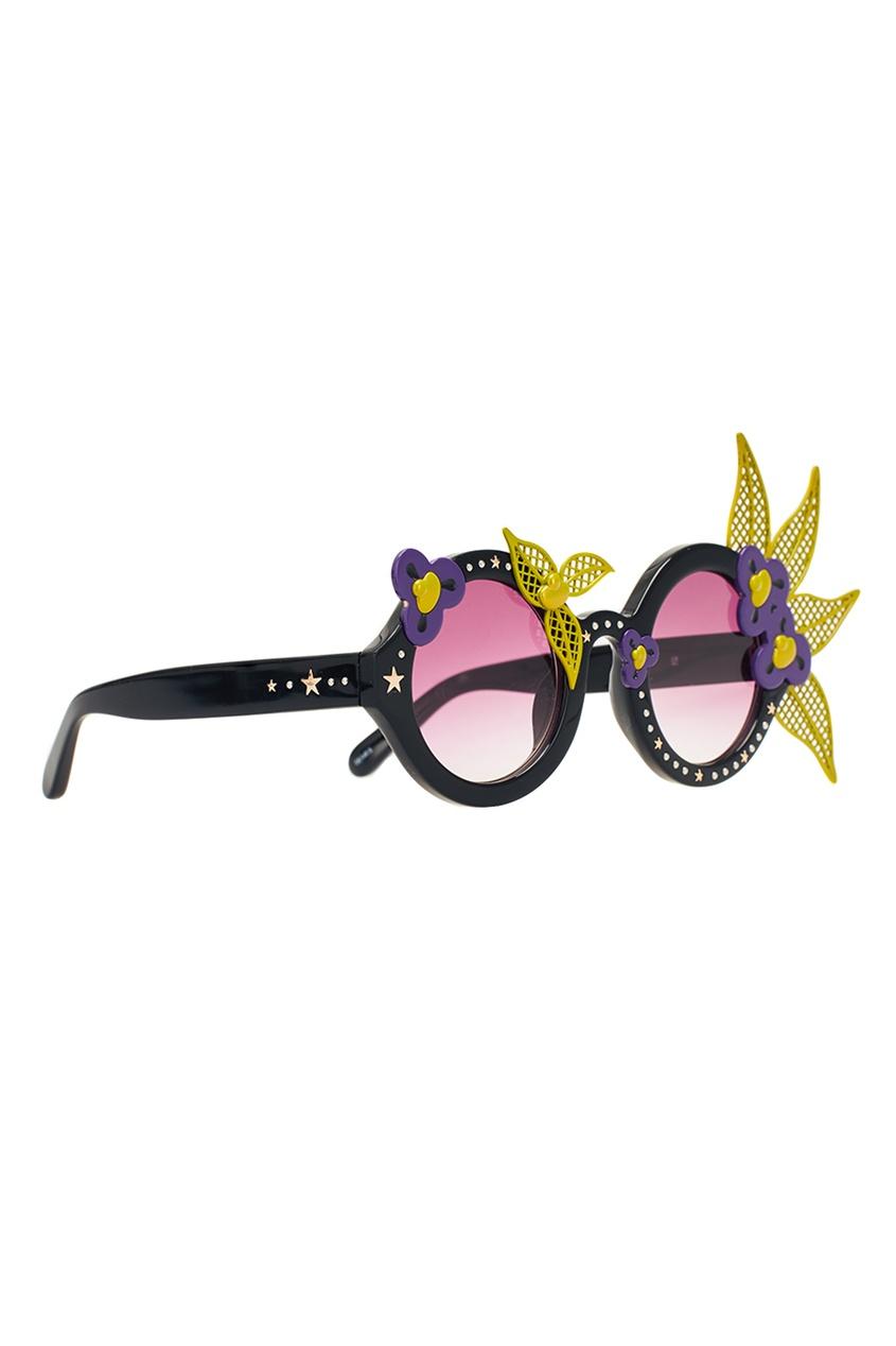 Декорированные очки Linda Farrow x Avrobertson
