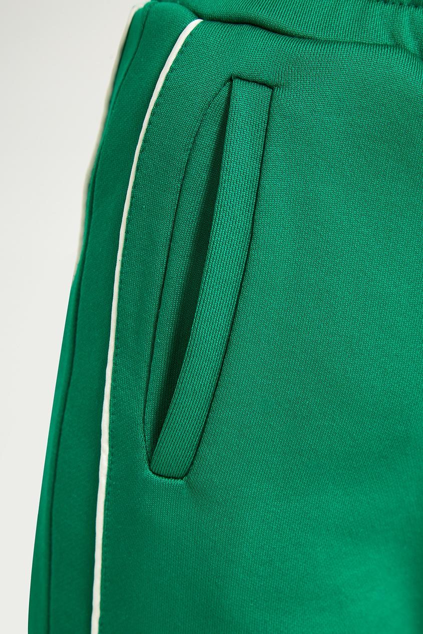 Red Valentino Зеленые спортивные брюки