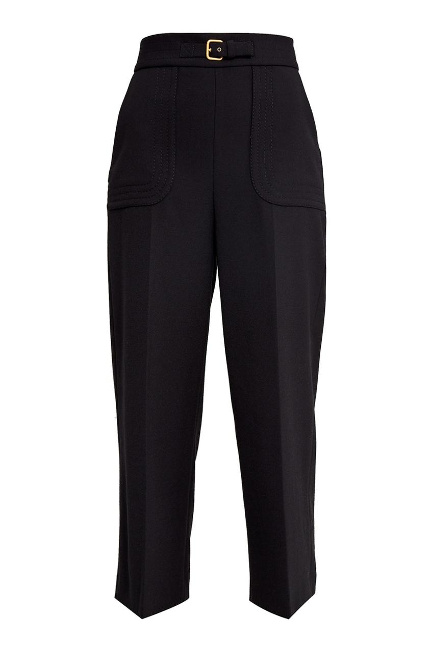 Red Valentino Широкие короткие брюки прямые широкие женские зимние брюки
