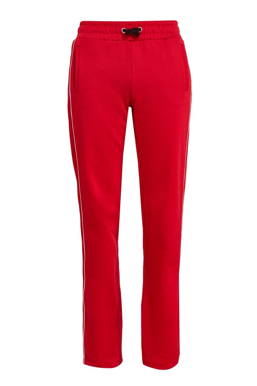 Red Valentino Красные спортивные брюки женские брюки red valentino 2015
