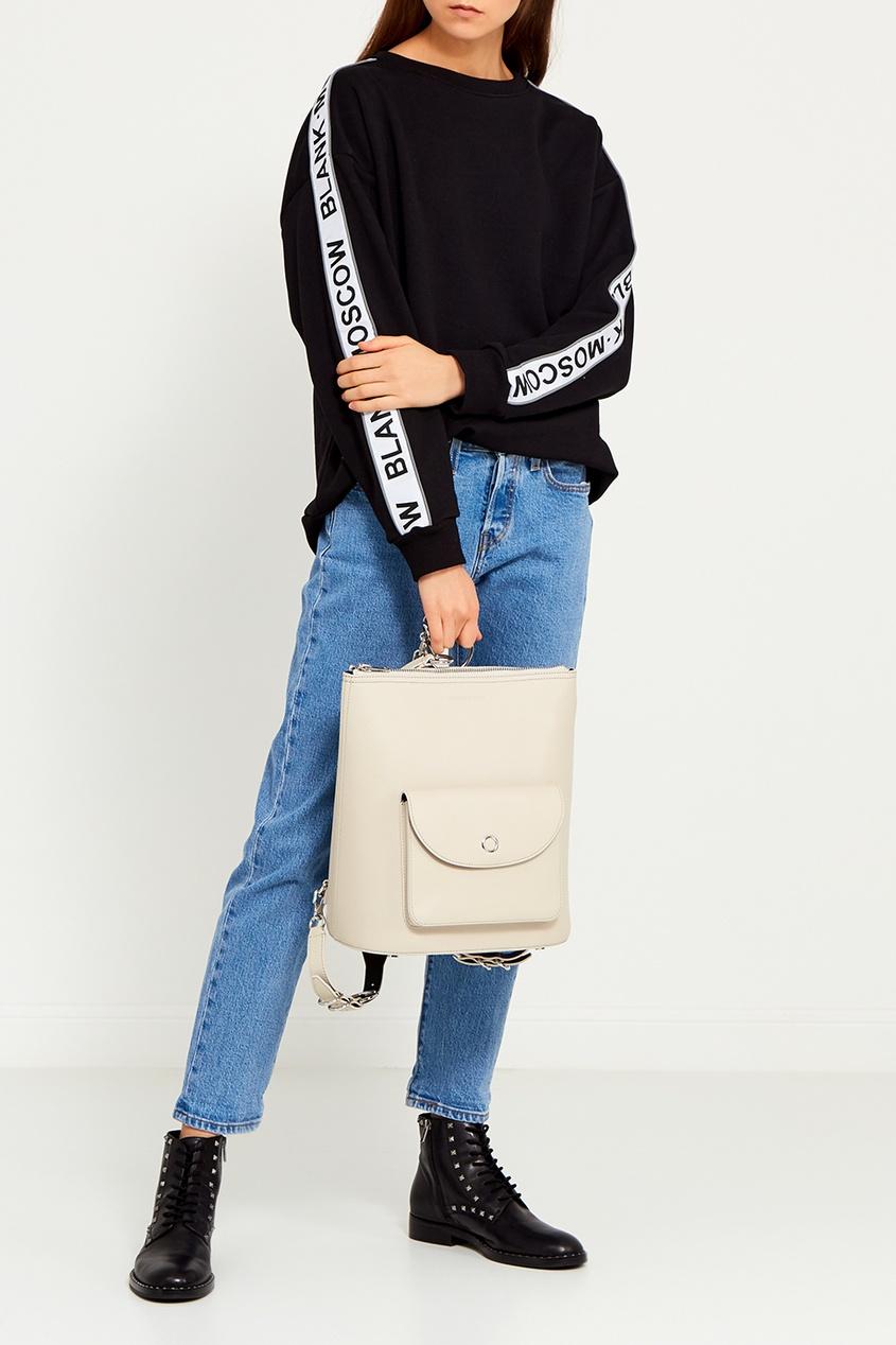 женский рюкзак alexander wang, белый