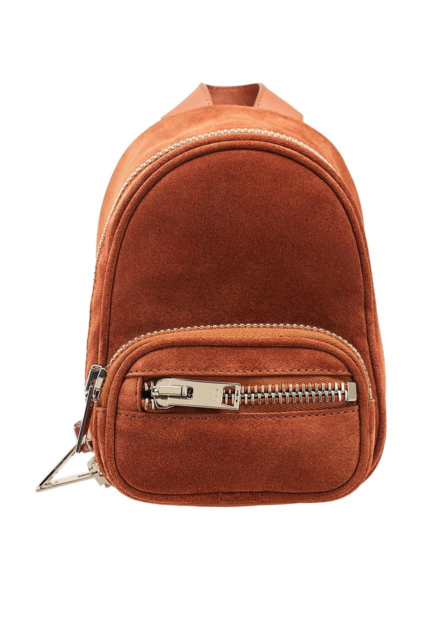 Замшевый мини-рюкзак