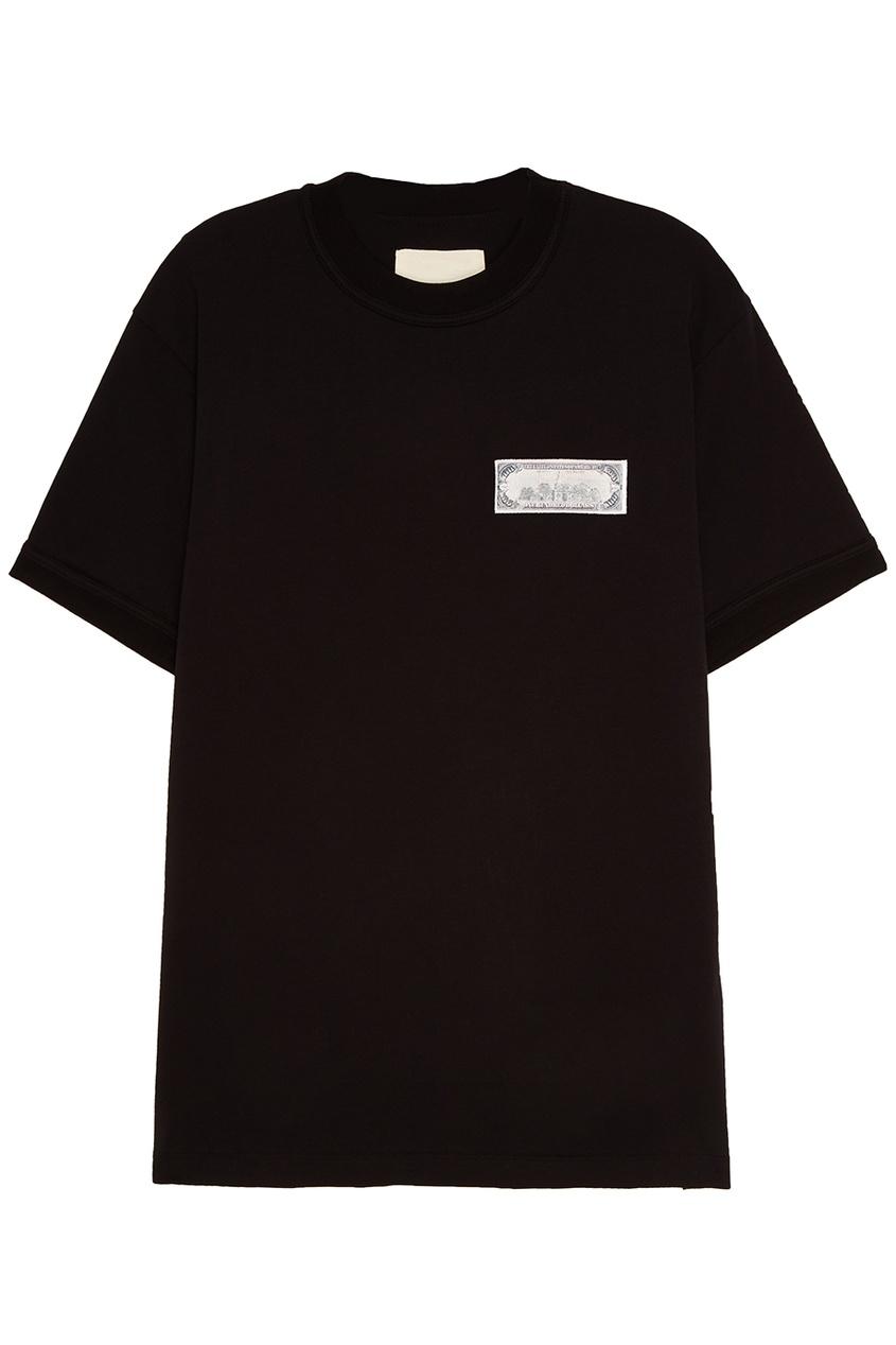 IH NOM UH NIT Черная футболка с долларом 1 piece for a4 1 8t 2002 2006 power steering pump 8e0145153h for audi