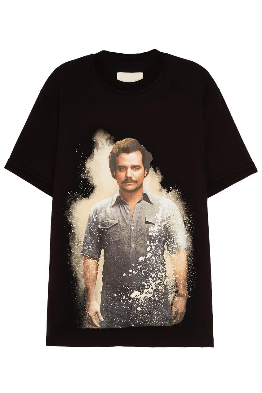 IH NOM UH NIT Хлопковая футболка с фотопринтом Pablo ih 3776wv
