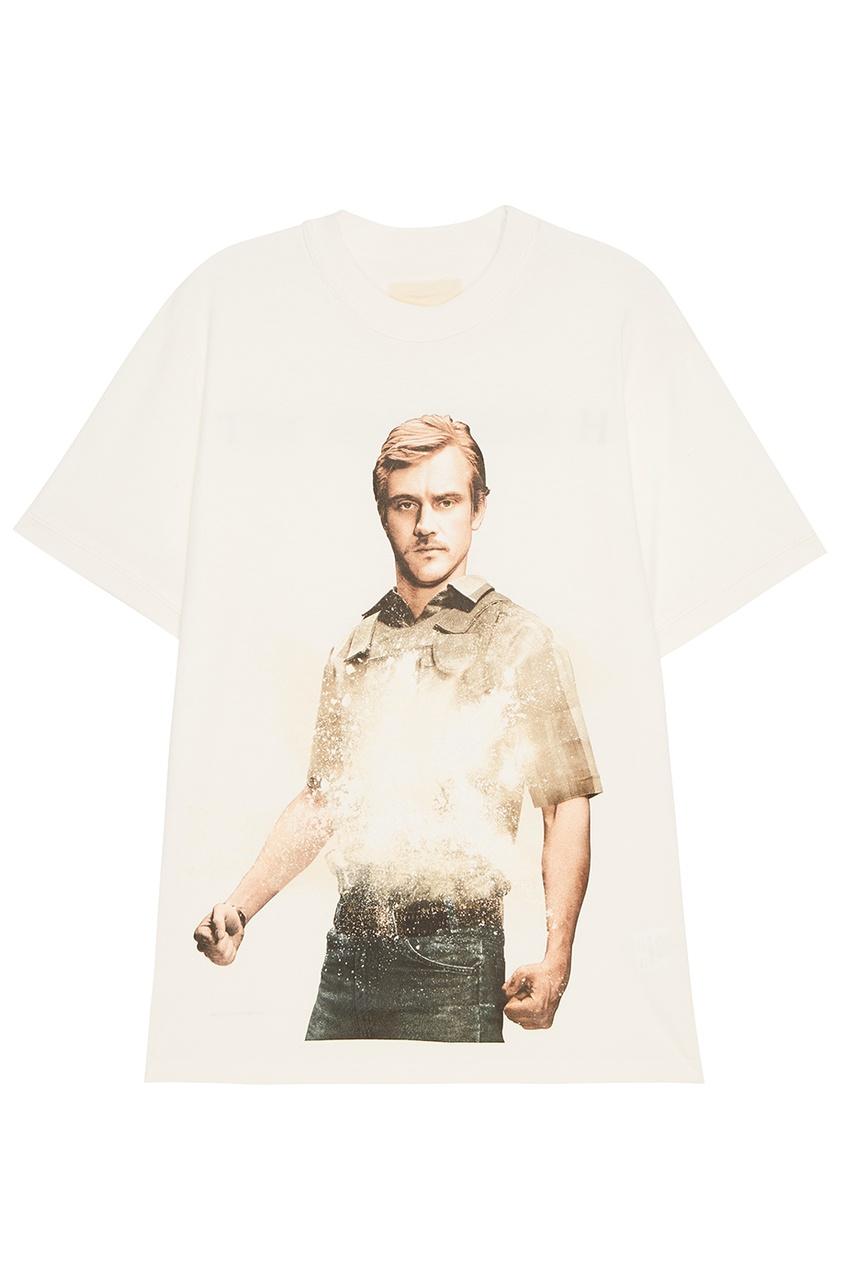 IH NOM UH NIT Белая футболка Murphy футболка mystery murphy dragon white