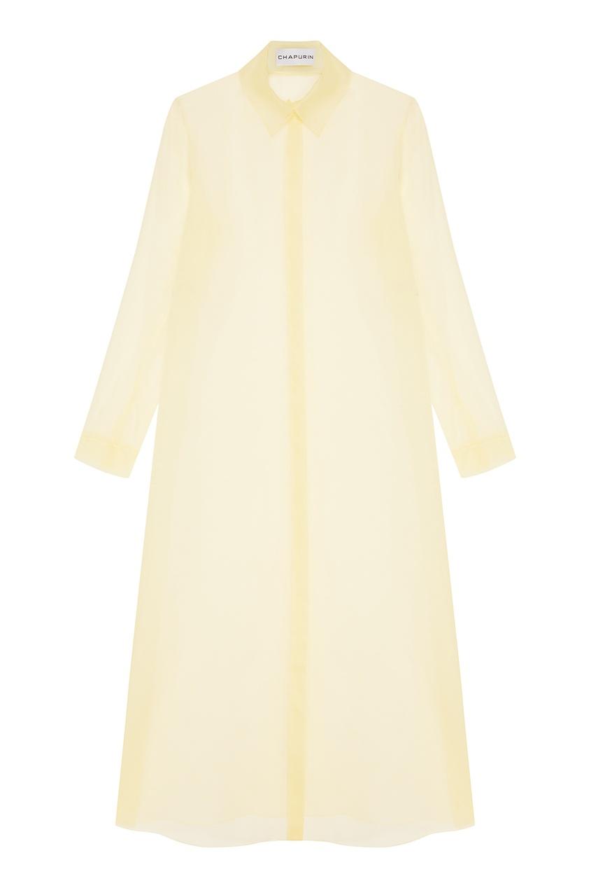 Chapurin Длинная шелковая блузка