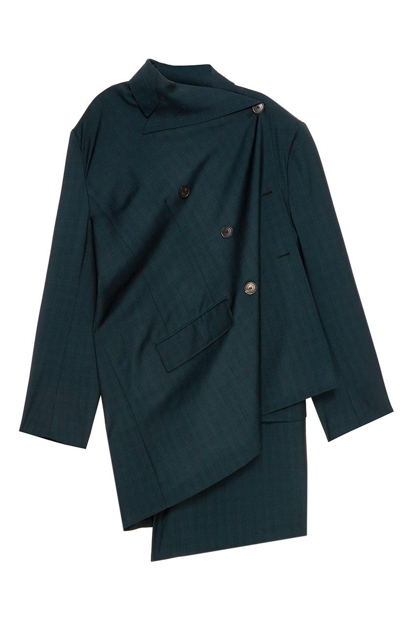 Balenciaga Зеленый жакет из шерсти и мохера balenciaga шерстяной пуловер