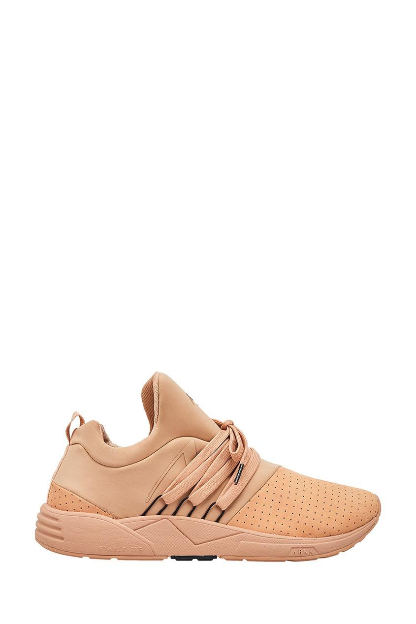 Купить Розовые комбинированные кроссовки розового цвета