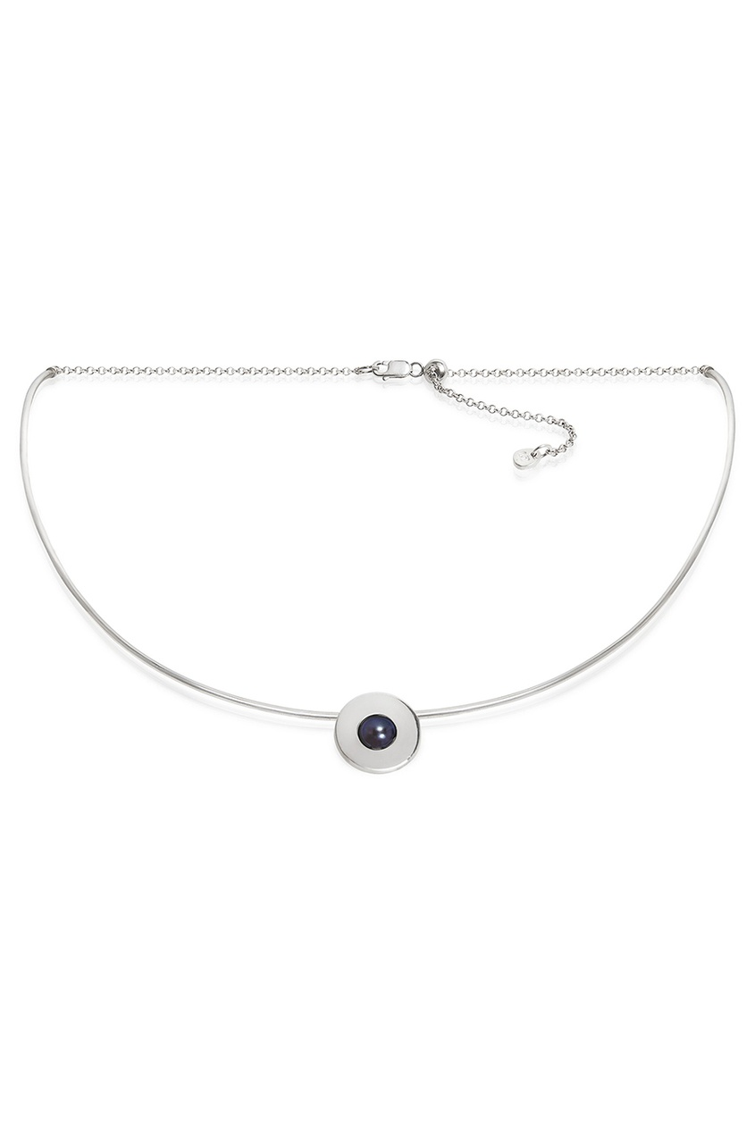 Little Thing Колье серебряное с жемчугом Forma jv серебряное колье с синт жемчугом n100151 wp wg 40