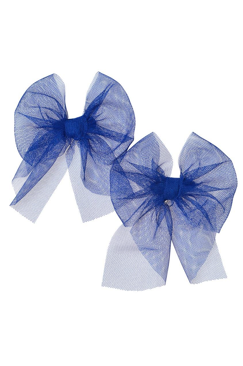 Skirts&More Набор из двух синих брошей