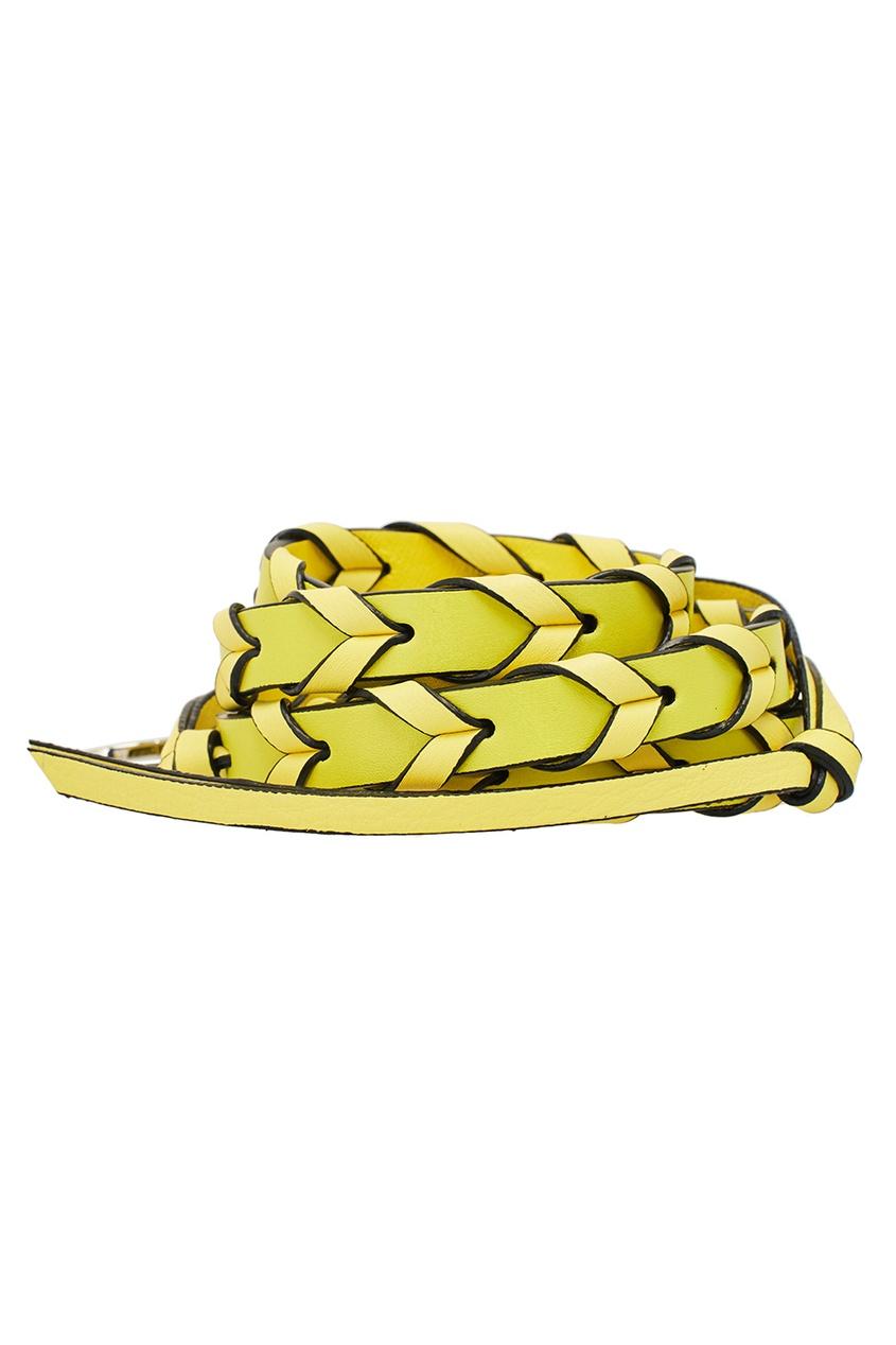 Желтый ремень для сумки