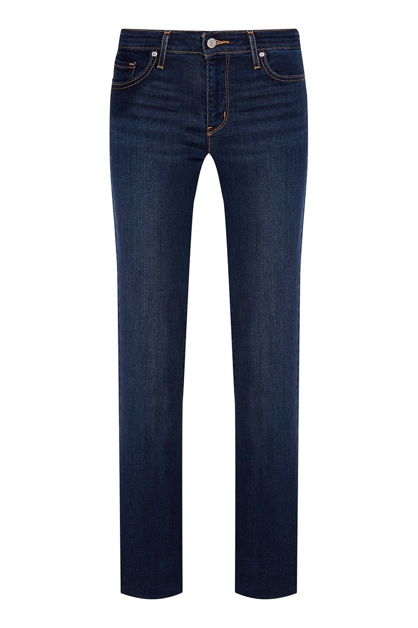Levi's® Прямые синие джинсы 714 Straight джинсы levi's® 2183400060