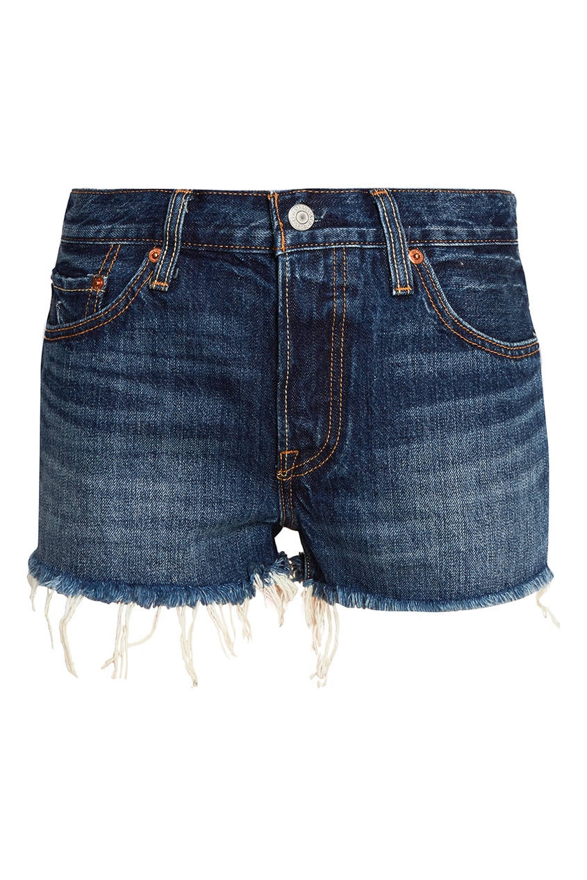 Levi`s Синие джинсовые шорты 501® SHORT