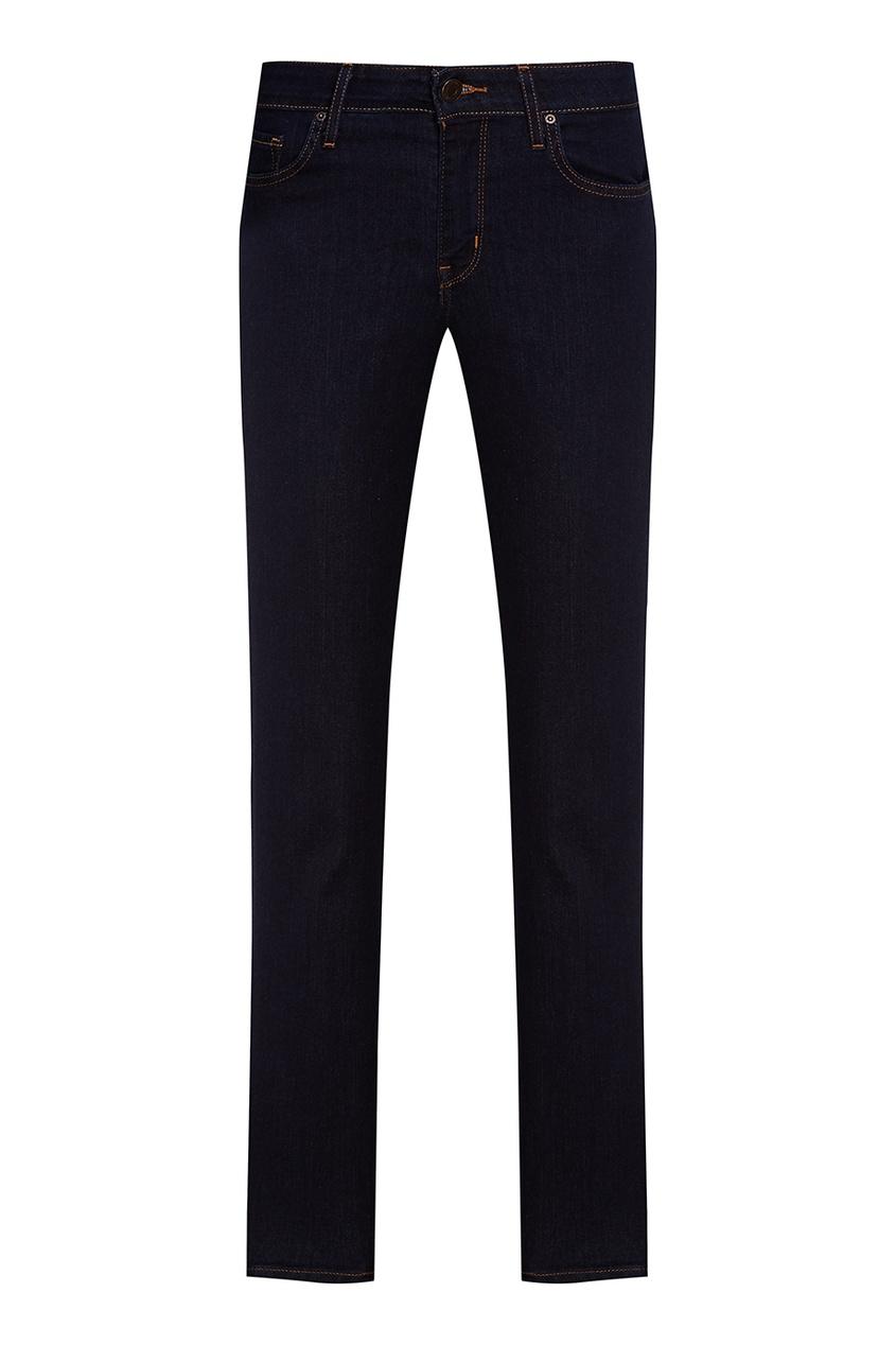 Levi's® Синие прямые джинсы 714 Straight джинсы levi's® 2183400060