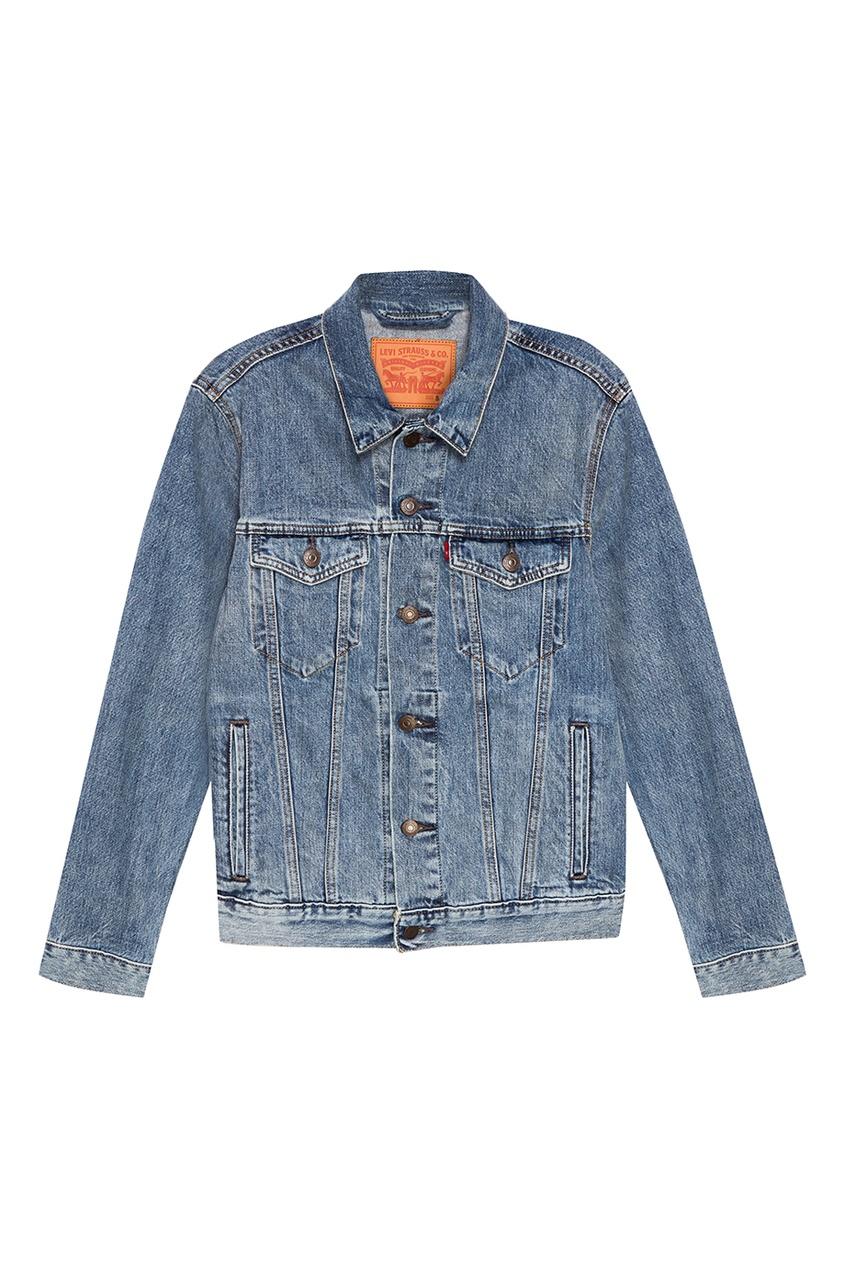 Levi's® Голубая джинсовая куртка THE TRUCKER JACKET рубашка levi's® 2354800610