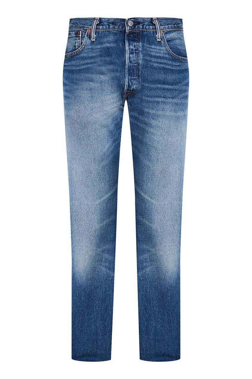 Levi's® Прямые джинсы с потертостями 501® Levi's®ORIGINAL FIT рубашка levi's® 2354800610
